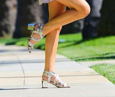 lisa michelle collection; independent los angeles designers; cute silver shoes;  comfy cute shoes