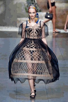 #Wicker #Dress admired by our rattan furniture... | Wicker Blog    wickerparadise.com