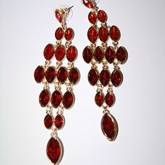 Daisy Spade Cardinal Earrings Classic jewelry must need for wardrobe