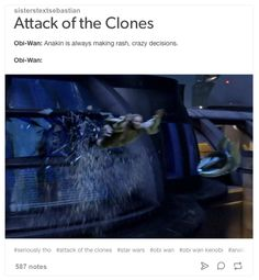 star wars attack of the clones obi wan kenobi tumblr text post