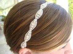 Flower Girl Tiara Bridal Hair Piece Wedding by PalisadesBride