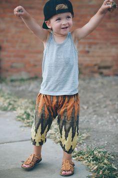 little dude harem pants
