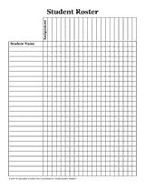 TeacherS Attendance And Roll Book  Attendance Sheet Absent