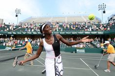 Venus Williams, former world #1 & 2004 Family Circle Cup Champion, will showcase her stylish apparel line, EleVen, in a World Team Tennis format exhibition at the Family Circle Cup on April 1st. Venus, alongside four Charleston women, will play on the Althea Gibson Court from 4:30 - 6:00pm. #TeamVENUS