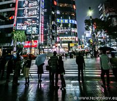 Ginza lights / Tokyo