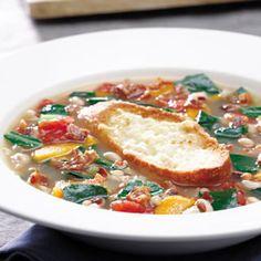 Collard Green & Black-Eyed Pea Soup