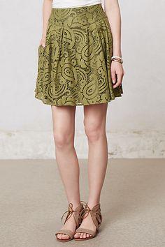 athropologie skirt