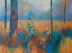 Autumn Brights 2. Mixed media. Anna Perlin