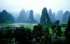 six months til my china/thailand backpacking trip!! SO going here! guilin hills, china.