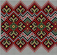 Worki mochilla i wayuu Cross Stitch Borders, Cross Stitch Charts, Cross Stitch Designs, Cross Stitching, Cross Stitch Patterns, Folk Embroidery, Embroidery Patterns Free, Loom Patterns, Cross Stitch Embroidery