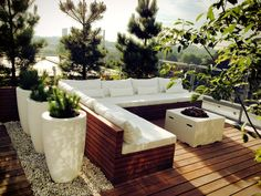 Rooftop terrace, Piushaven,Tilburg, NL, by Studio REDD
