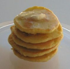 Delicious low carb pancakes with a twist- they're made from roasted macadamia nuts! I will definitely be making this again. Note: I added a sweetener.