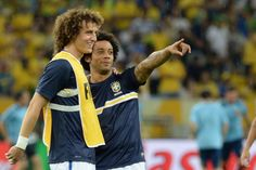 David luiz and Marcelo