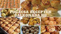 Legjobb pogácsa receptek » Balkonada pogácsa receptek Cereal, Muffin, Breakfast, Recipes, Food, Morning Coffee, Recipies, Essen, Muffins