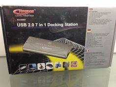 Typhoon USB in Docking Station This docking station from Typhoon allows for up to 7 PC accessories to be connected at once. This includes microphones, mouses, VGA Etc RRP: Our Price: Docking Station, Usb Flash Drive, Stuff To Buy, Accessories