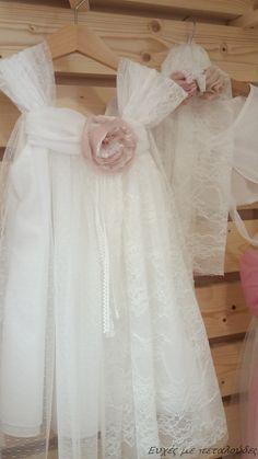 Φόρεμα βάπτισης 4287 www.grgamos.com Baby Girl Dresses, Baby Outfits, Baby Dress, Flower Girl Dresses, Baptism Dress, Christening, Anastasia, Babys, Vintage Dresses