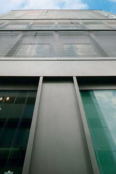 Drahtgewebe als Fassadenverkleidung