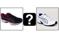 White sports shoes are always a big hit. Well, so are black. So which one?