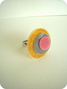 circles, circl ring, crafti, dink ring, clever craft, dink circl, shrink plastic, shrinki dink, craft diy
