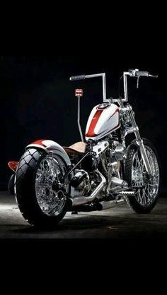 Harley Davidson News – Harley Davidson Bike Pics Triumph Bobber, Bobber Bikes, Harley Bobber, Harley Bikes, Bobber Motorcycle, Cool Motorcycles, Motorcycle Garage, Motorcycle Girls, Motorcycle Quotes