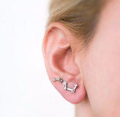Big Dipper earrings.