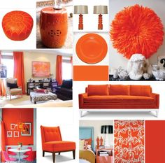 tangerine tango collage