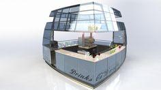 Chiosco per gelateria - RV design