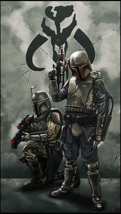 An Awesome Pair of Mandalorians - Star Wars