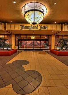 Disneyland Hotel by Matt Pasant, via Flickr