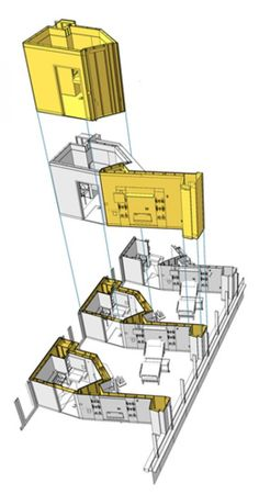 Prefabricated toilet rooms and headwall/footwalls sped up construction and minimized installation errors on site.