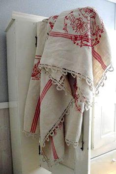 turkey red linen textile