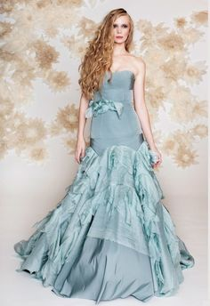 Of course you need a mermaid gown.