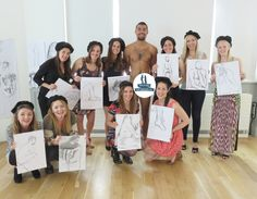 Hen Party Life Drawing event in London. Hen Party, Stag Party and Teambuilding events. #theoriginal #thebest