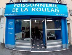 Poissonnerie de la Roulais à Saint Servan Saint-Malo