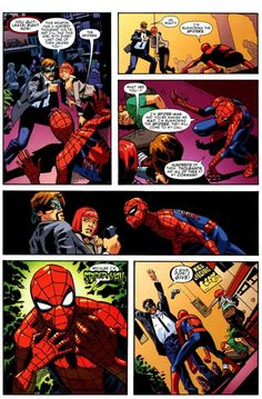 Funniest Spider-Man moment. This honestly would be terrifying though... I'm clearly a need for laughing at this