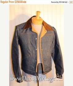 60% OFF SALE 70's  Vintage Wrangler Fleece by DenasVintageCloset