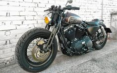 Harley Davidson Sportster Fortyeight Bobber by BR Moto #motorcycles #bobber #motos   caferacerpasion.com