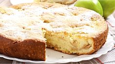 A delicious recipe that works well as a cake or muffins. Apple Cinnamon Cake, French Apple Cake, Cinnamon Apples, Baking Recipes For Kids, Baby Food Recipes, Sweet Recipes, Cake Recipes, Thermomix Desserts, Köstliche Desserts
