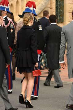 La princesse Alexandra de Hanovre à Monaco, le 19 novembre 2015