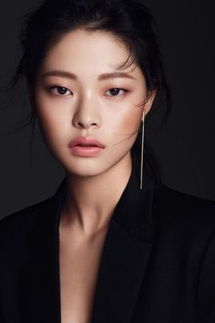"koreanmodel: ""Kim Ah Hyun by Lee Seung Yeop for Clio Nov 2016 """