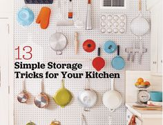 13 simple storage tricks for your kitchen on domino.com