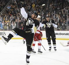 Feb. 11, 2015 — Penguins 4, Red Wings 1 (Photo: Chaz Palla  |  Trib Total Media)