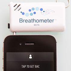 Breathometer Introduces World's First Smartphone Breathalyzer