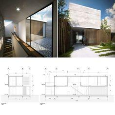 El proyecto del conjunto de viviendas busca incorporar a sus unidades distintos espacios, recorridos, situaciones paisajísticas y detalles propios de la arquitectura de las viviendas unifamiliares.