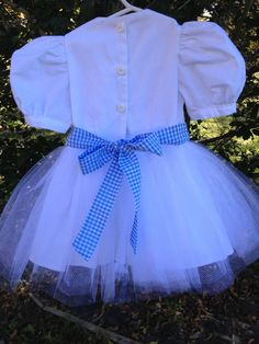 Vintage Dorothy Dress size 12 months handmade by Sweet Janes Clothing