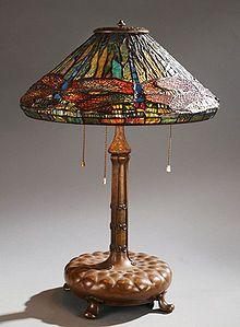 Tiffany Studios Dragonfly table lamp circa 1902