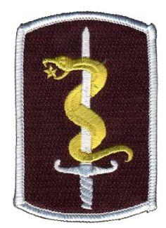 Army 30th Medical Brigade 25 Class A Military Patch Armda Usa Letadla Lkask