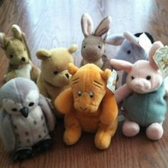 GUND's Classic Pooh and friends collection. All 7 characters. Pretty cool to see all 7 together :)