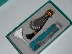 Towle Sterling Silver Perfume Bottle Complete Set #Towle