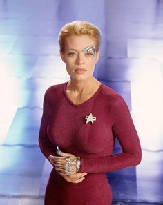 And it's based on the most badass Star Trek ladies. Like damn Seven Of Nine! | MAC Cosmetics Is Making Star Trek Makeup And Trekkies Are Pumped